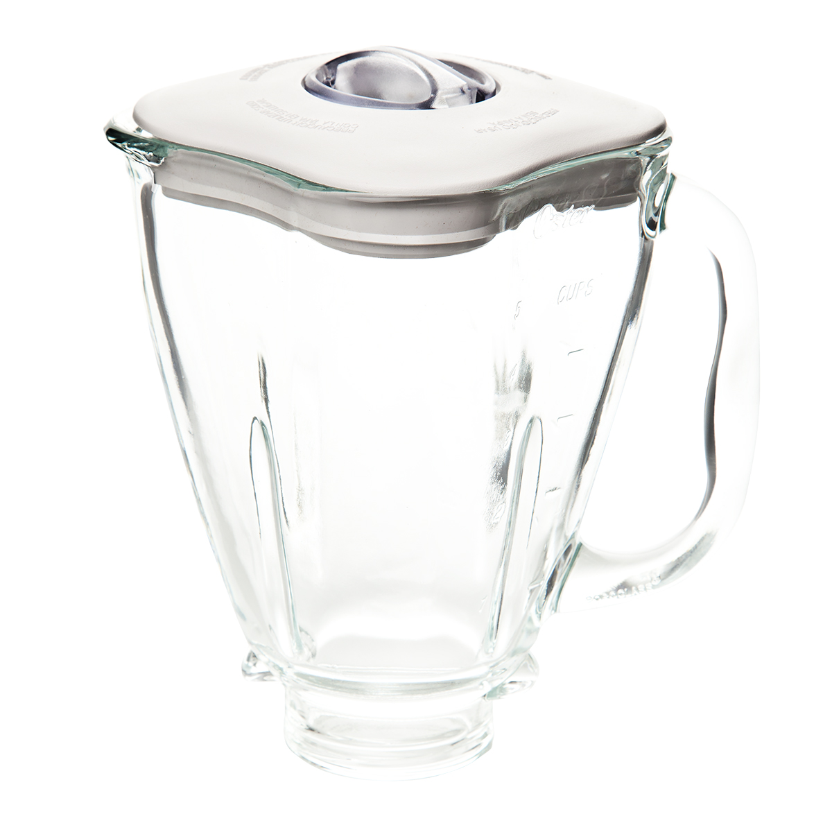 Fits Oster /& Osterizer 5 Cup Glass Square Top Blender Jar