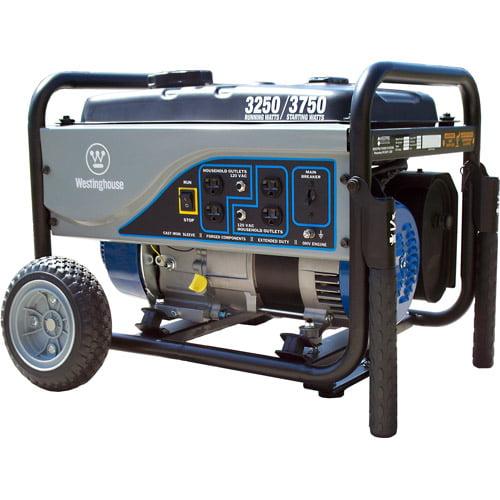 Westinghouse 3250 Running Watts/3750 Starting Watts Portable Generator