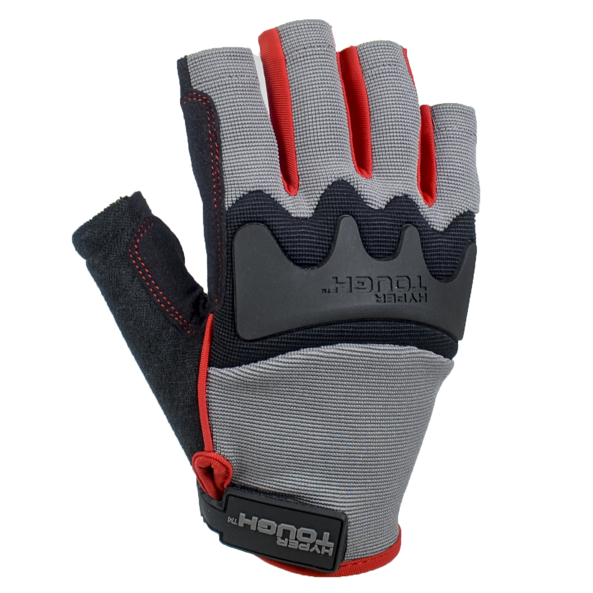 Hyper Tough Fingerless Glove Large