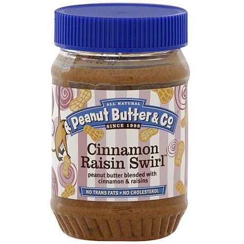 Peanut Butter & Co. Cinnamon Swirl Peanut Butter, 16 oz (Pack of 6)
