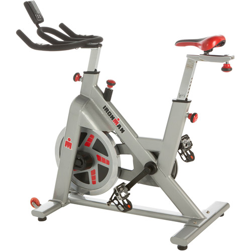 IRONMAN H-Class 510 Indoor Cycling Exercise Bike with Digital Computer and Heart Rate System