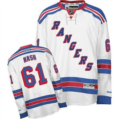online store 60786 82662 Rick Nash New York Rangers Reebok Away Premier Jersey - White