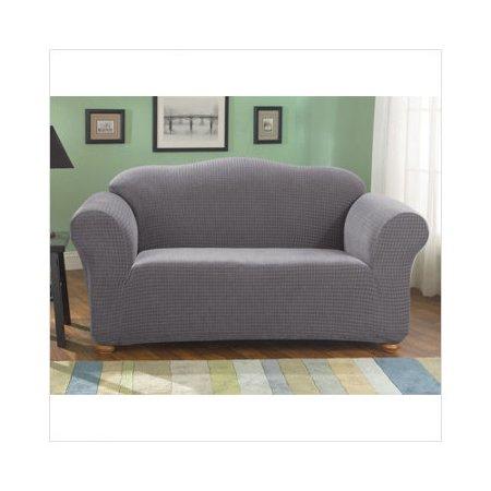 Bundle 29 Sure Fit Stretch Grid Sofa Slipcover Box
