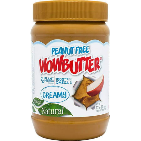 - Natural Peanut Free Creamy 1.1lb Jar, The only peanut free spread with a taste & texture just like peanut butter but with even better nutrition. By WOWBUTTER