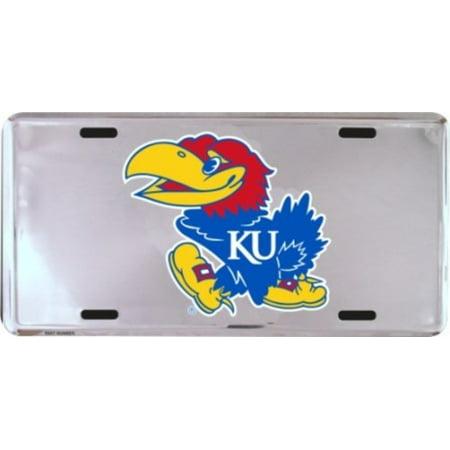 Kansas Jayhawks License Plate