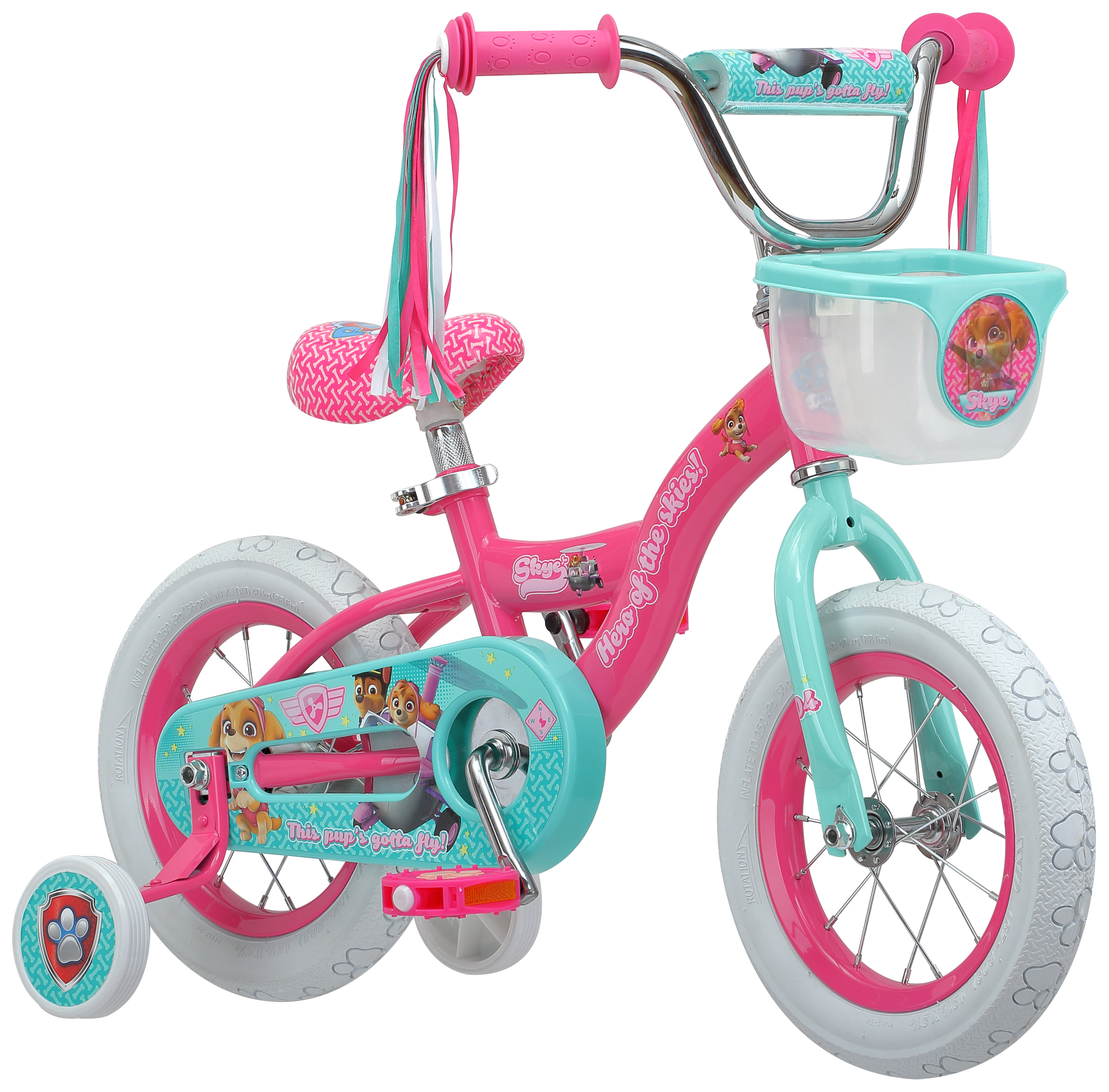 Nickelodeon 12 Inch Paw Patrol Skye Bike