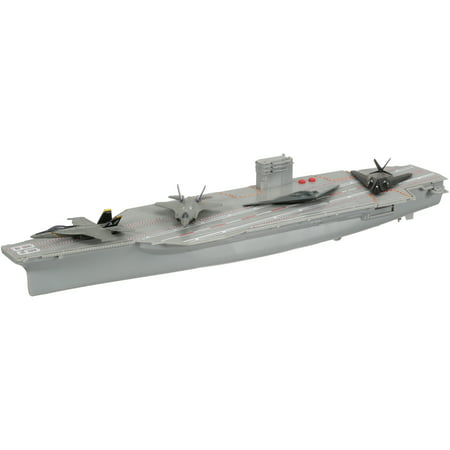 New-Ray Military Mission Aircraft Carrier Toy Warship Set 5 pc Box