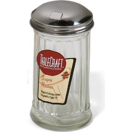 Sugar Pourer, Holds 1 1/2 cups / 12 ounces of sugar. By - 12 Ounce Sugar Pourer