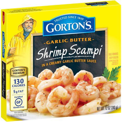 Gortons Scampi In Creamy Garlic Butter Sauce Shrimp Temptations, 12 Oz