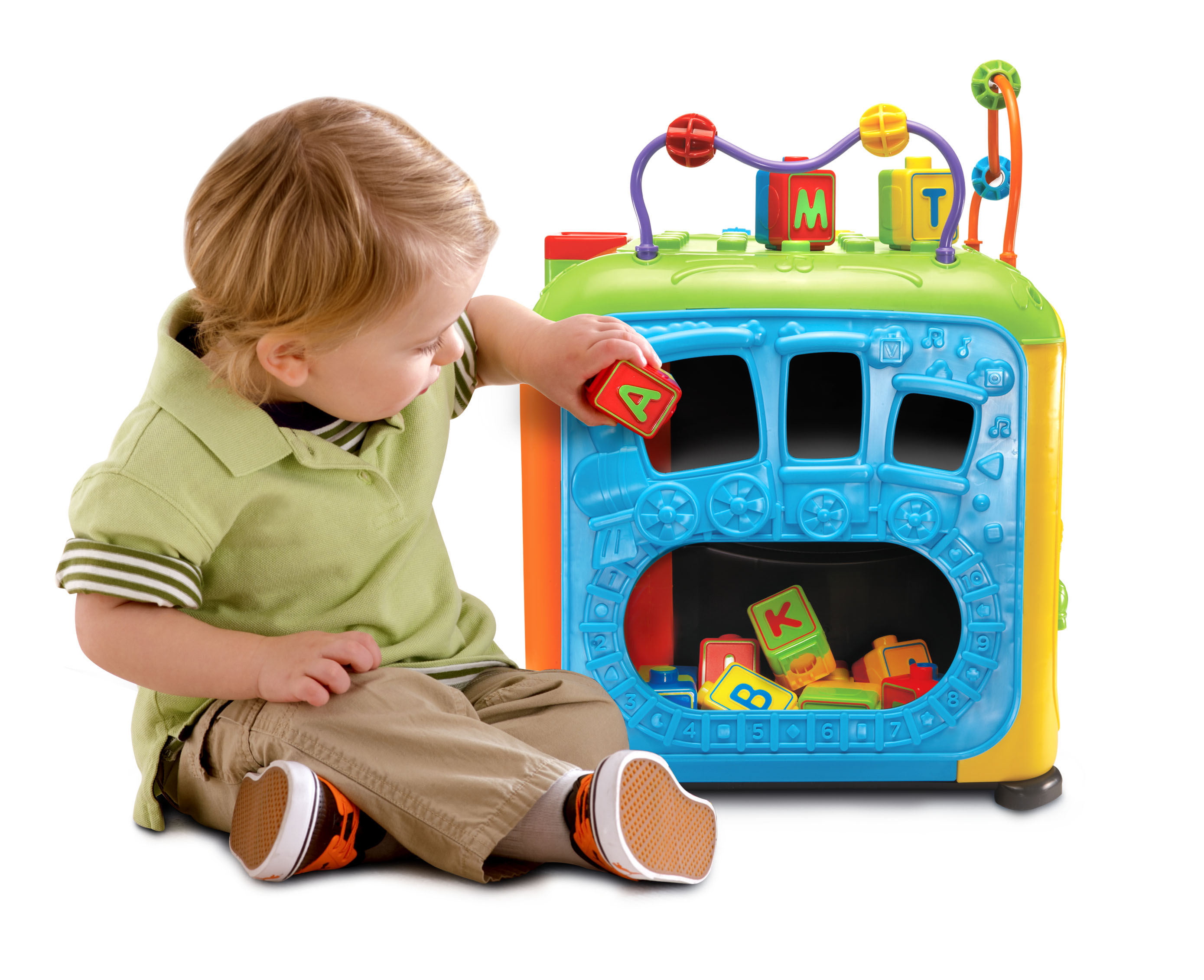 VTech Ultimate Alphabet Activity Cube Learning Toy Baby ...