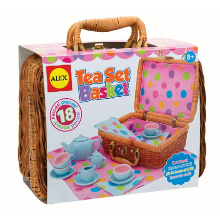 ALEX Toys Tea Set Basket ()