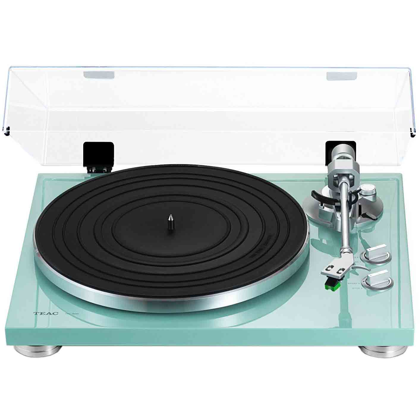 Teac TN-300 2-Speed Analog Turntable Turquoise by TEAC