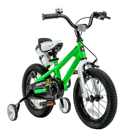 Freestyle Green 14 inch Kids Bicycle