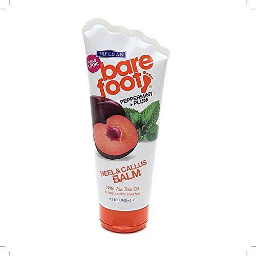 Freeman Peppermint + Plum Foot Balm 5.30 Oz
