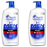 Head and Shoulders 2 in 1 Shampoo, Old Spice Swagger, 31.4 oz, 2 pack