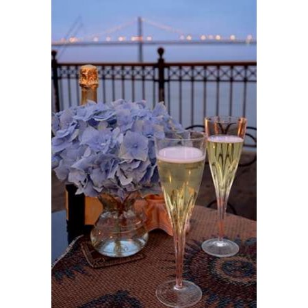 Dream Cache - Dream Cafe Bay Bridge - 19 Poster Print by Alan Blaustein