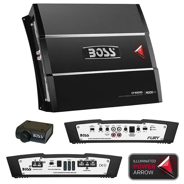 Boss CF4000D Chaos Fury 4000W Monoblock, Class D Amplifier