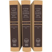 St. George Tucker's Law Reports and Selected Papers, 1782-1825, 3 Vol Set