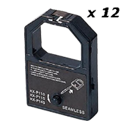 Zoomtoner Compatible pourPanasonic KX-P 1083 Panasonic KX-P110 Noir Ribbon (Box of 12)
