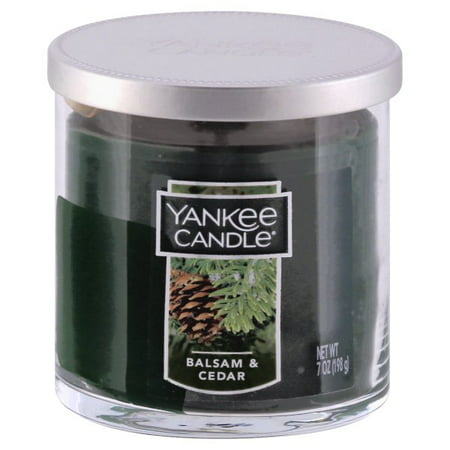 Yankee Candle Housewarmer Balsam and Cedar Small Tumbler Candle