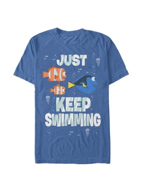 Finding Dory Men's Just Keep Swimming T-Shirt
