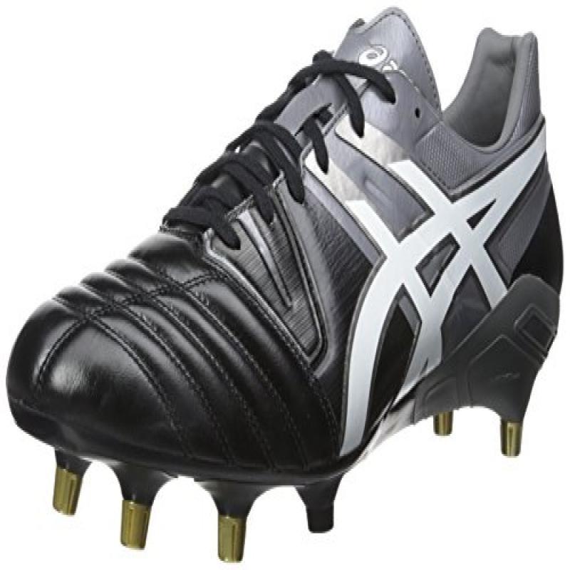 Asics Men's Gel-Lethal Tight 5 Soccer Shoe,Black/White/Da...