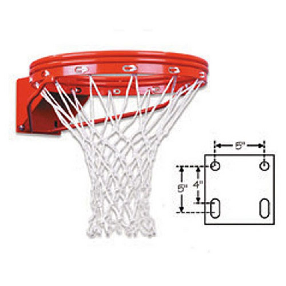 FT170D First Team Heavy Duty Double Rim Fixed Basketball Rim