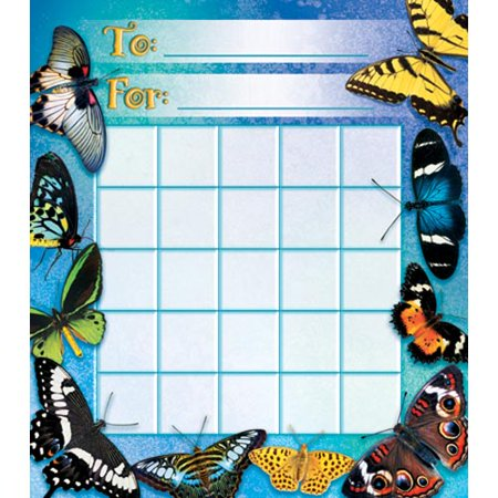 Butterflies Mini Incentive Charts