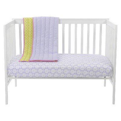 Sumersault Mix & Match Floral Crib SHeet by Sumersault