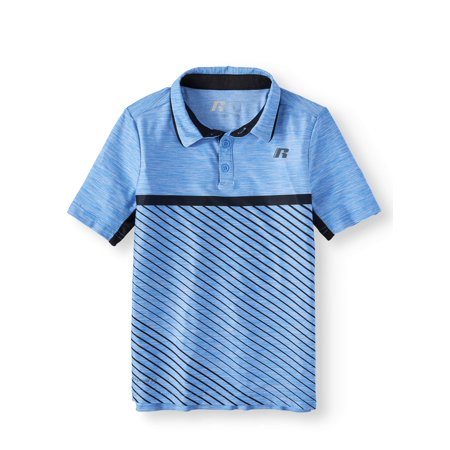 Russell Short Sleeve Performance Polo (Little Boys & Big (Best Sports For Boys)