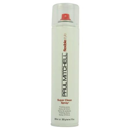 Super Clean Flexible Style Finishing Spray, By Paul Mitchell - 300 Ml Hair Spray