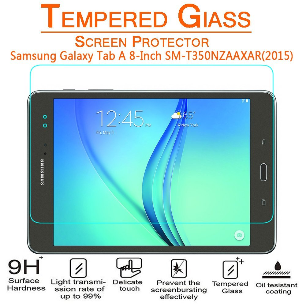 Arc® Samsung Galaxy Tab A 8.0; T350; T355 Tempered Glass Screen Protector