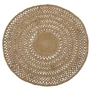 Round Jute Area Rug by Drew Barrymore Flower Home