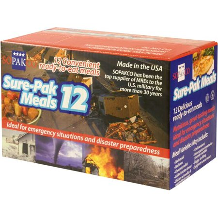 Military MRE Meals 12 Meals by