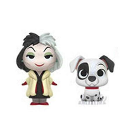 Funko Mystery Minis - Disney Villains - Cruella De Vil & Patch (101 Dalmations) - Disney Cruella De Vil