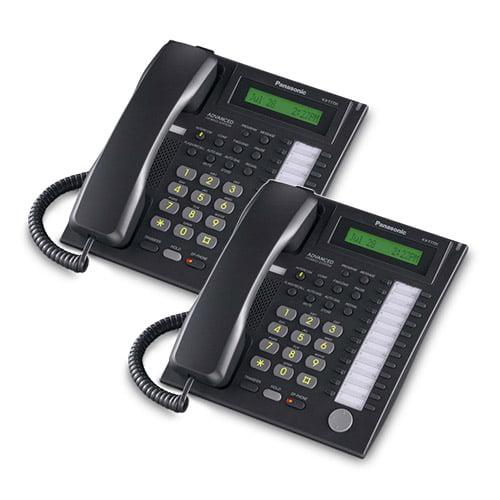 Panasonic-KX-T7731B (2 Pack) Speakerphone Telephone With LCD