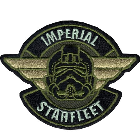 Star Wars Rogue One Imperial Starfleet Iron On Patch