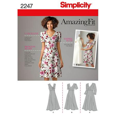 Simplicity Plus Size 20W-28W Dress Pattern, 1 (American Dress Pattern)
