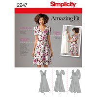 0f9a6398b83 Product Image Simplicity Pattern Plus Size Dresses