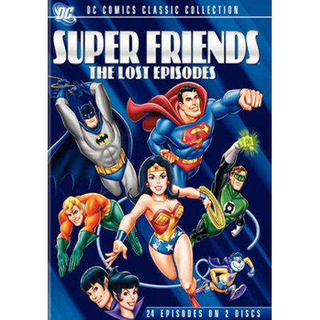 Superfriends: The Lost Episodes (DVD) - Friends Halloween Party Episode Full