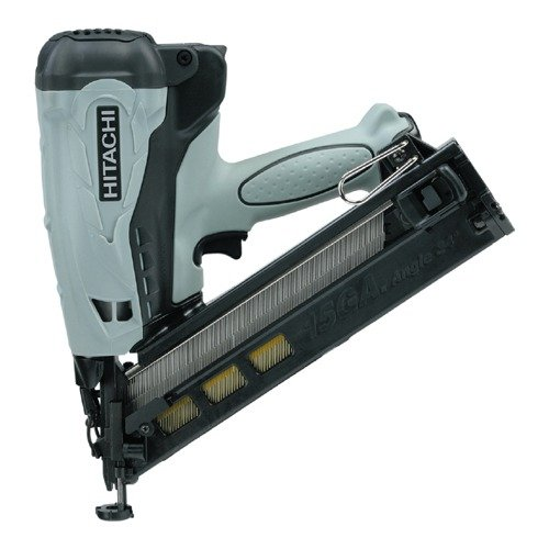 Hitachi 2.5'' Gas Powered 15-Gauge Angled Finish Nailer