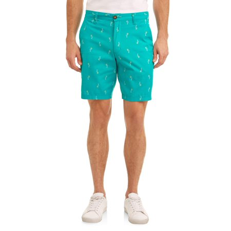 - George Men's Flat Front Short