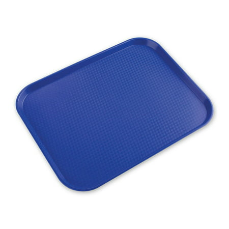 Cafeteria Tray - Blue - 11-in x (Glasteel Dark Wood Cafeteria Tray)