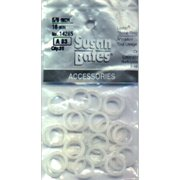 "Plastic Bone Rings-.625"" 25/Pkg"