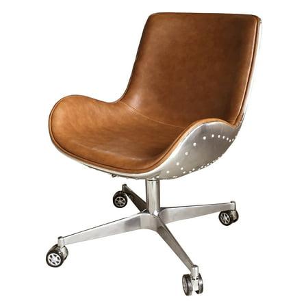 Abner Swivel Aluminum Office Chair, Multiple Colors ()