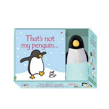THATS NOT MY PENGUIN BOOK & TOY