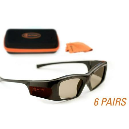 EPSON-Compatible 3ACTIVE 3D Glasses. Rechargeable. MEGA-PACK
