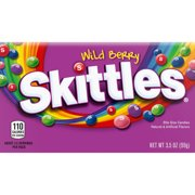 Skittles Wild Berry Chewy Candy Theater Box, 3.5 ounce