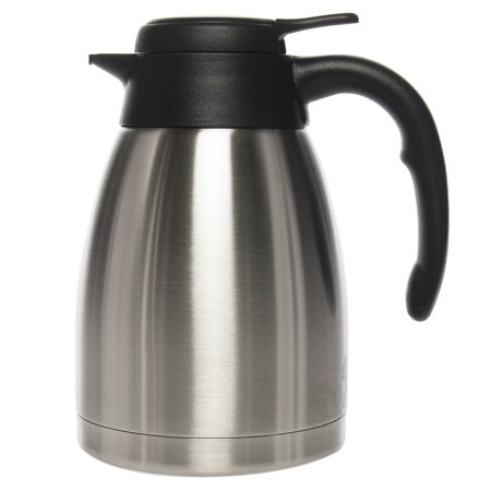 (Service Ideas 1.2 Liter Coffee Pot Thermal Carafe Stainless Steel Pitcher For Hot Beverage Server Insulated)