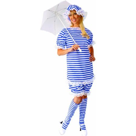 Alexander Costume 18-022-BL Old Fashion Bathing Suit Ladies - 2X, Blue - Best Family Halloween Costumes Ideas